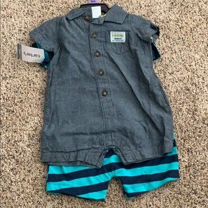 NWT Carter's one piece outfits
